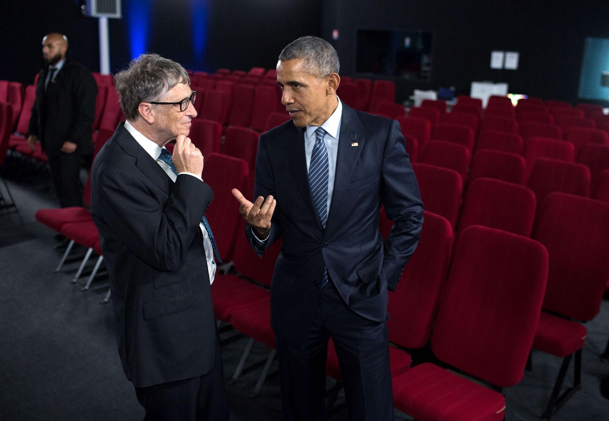 Trump Oval Office Pictures Bill Gates Barack Obama Globalo