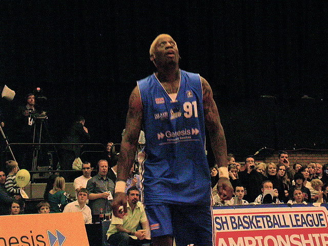 Denis Rodman. Picture: Simon James/flickr