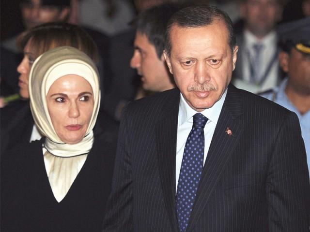 ترکش-وزیر-اعظم-طیب-اردگان-اور-ان-کی-اہلیہ