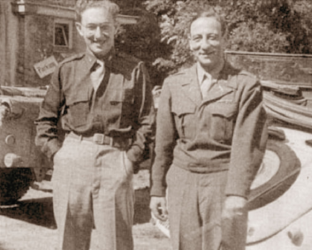 Fritz Kraemer and Henry Kissinger 1945