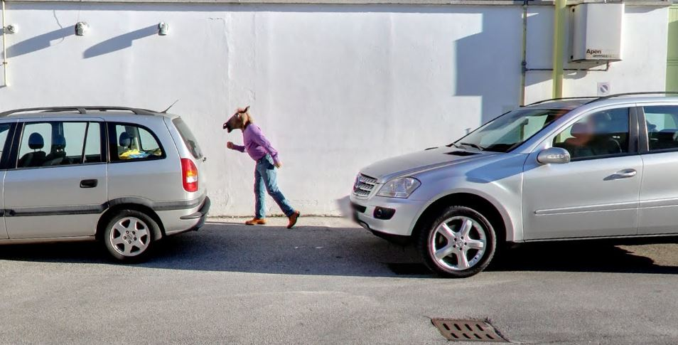 Silliness on Google StreetView