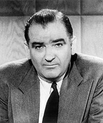 Senator Joseph McCarthy (1908-1957) via: Wikipedia
