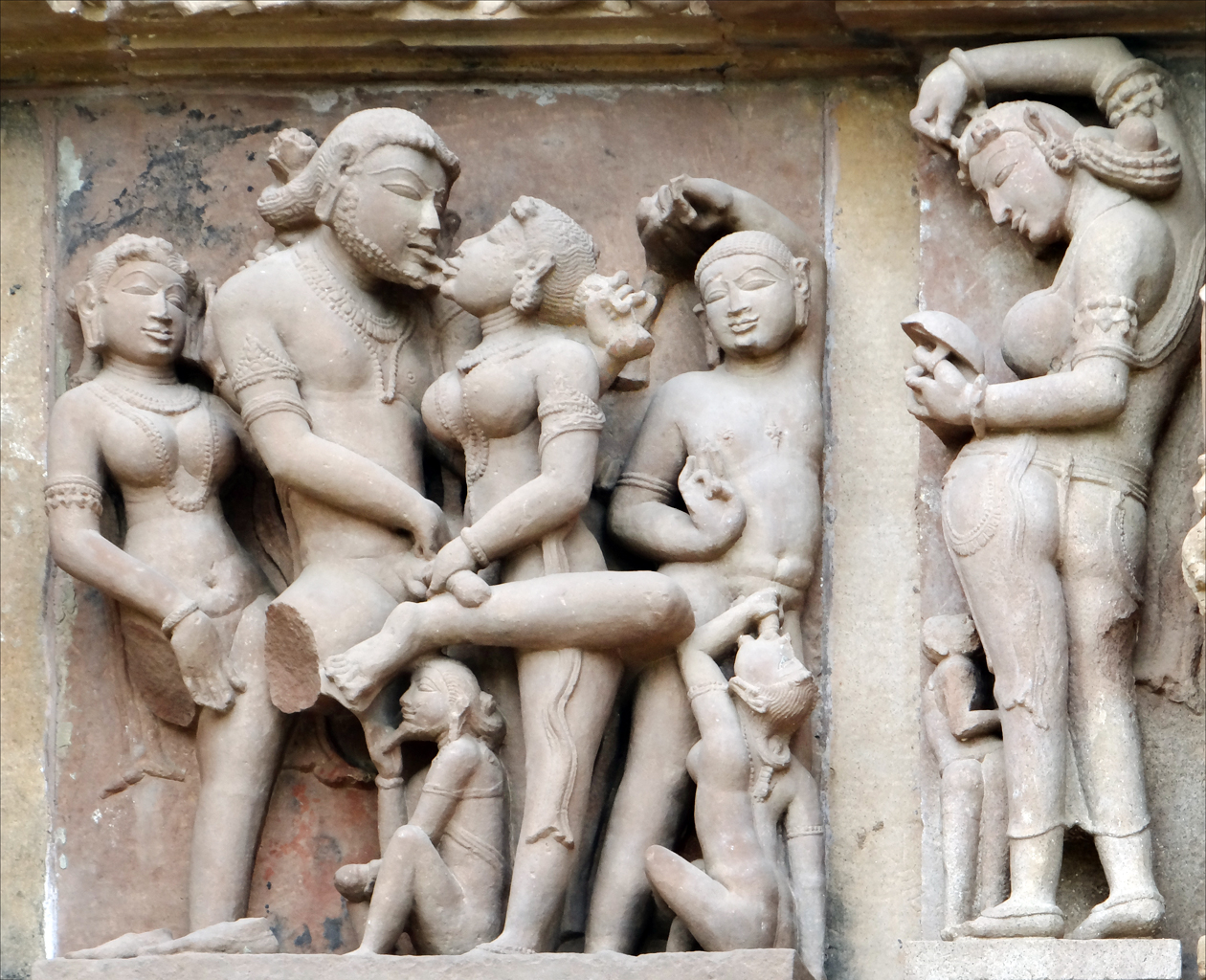 Laxman temple in Khajuraho. Credit: Jean-Pierre Dalbéra/flickr