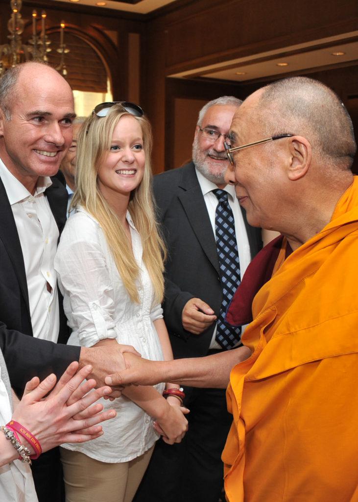 Besuch seiner Heiligkeit des XIV Dalai Lama in Hessen vom 22. bis 24. August 2011