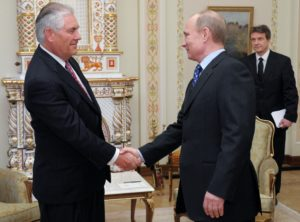 Rex Tillerson order of friendship Putin