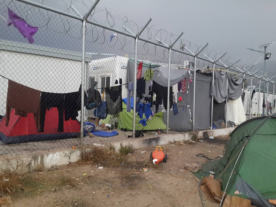 Vial Camp Chios. Oct. 2017