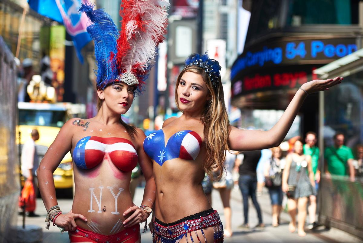 New york young girls, womans naked muff