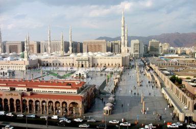 The Mosque of the Prophet, Medina Saudi Arabia
