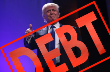 Donald Trump increases US debt