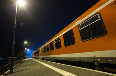 Refugee attack on a Train in Germany