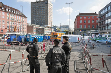 Suicide attack in Germany