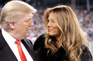 Trump and wife Melania, accused of plagiarism
